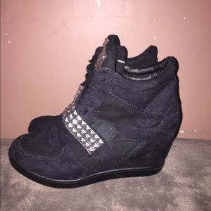 Shoes - Wedge sneakers size 8